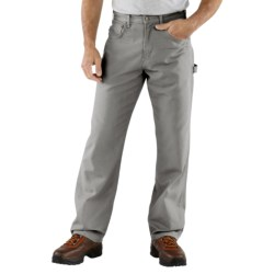 Carhartt Carpenter Jeans - Loose Fit, Factory Seconds (For Men) in Charcoal