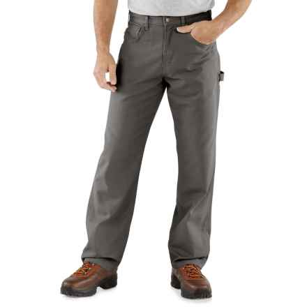 Carhartt Carpenter Jeans - Loose Fit, Factory Seconds (For Men) in Charcoal - 2nds
