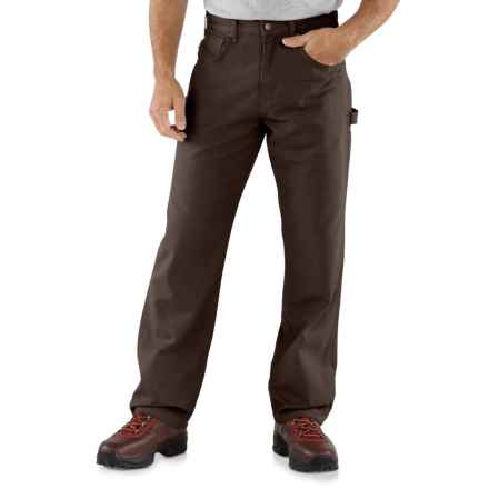 Carhartt Carpenter Jeans - Loose Fit, Factory Seconds (For Men) in Dark Brown - 2nds