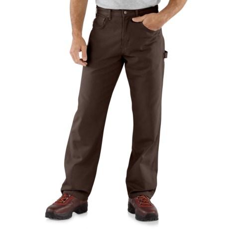 Carhartt Carpenter Jeans - Loose Fit, Factory Seconds (For Men) in Dark Brown