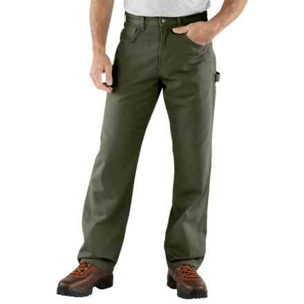Carhartt Carpenter Jeans - Loose Fit, Factory Seconds (For Men) in Dark Moss - 2nds