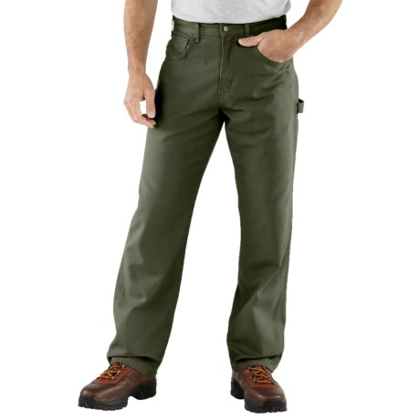 Carhartt Carpenter Jeans - Loose Fit, Factory Seconds (For Men) in Dark Moss