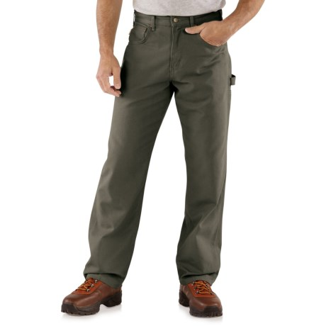 Carhartt Carpenter Jeans - Loose Fit, Factory Seconds (For Men) in Dark Moss