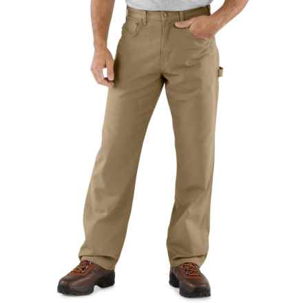 Carhartt Carpenter Jeans - Loose Fit, Factory Seconds (For Men) in Golden Khaki - 2nds
