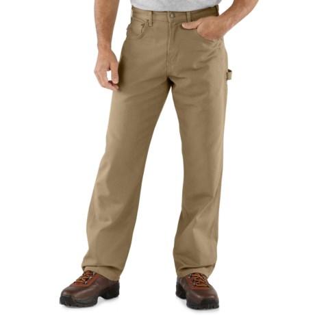 Carhartt Carpenter Jeans - Loose Fit, Factory Seconds (For Men) in Golden Khaki