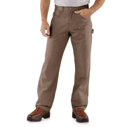 Carhartt Carpenter Jeans - Loose Fit, Factory Seconds (For Men) in Mushroom - 2nds
