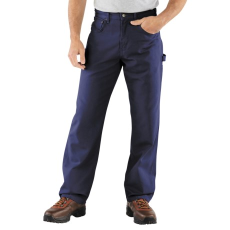 Carhartt Carpenter Jeans - Loose Fit, Factory Seconds (For Men) in Navy