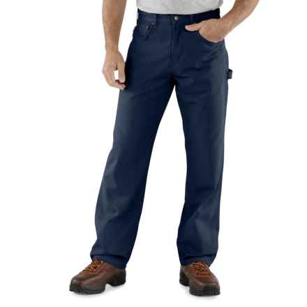 Carhartt Carpenter Jeans - Loose Fit, Factory Seconds (For Men) in Navy - 2nds