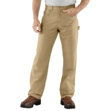 Carhartt Carpenter Jeans - Loose Fit (For Men) in Golden Khaki - 2nds