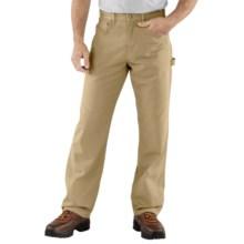 Carhartt Carpenter Jeans - Loose Fit (For Men) in Golden Khaki - 2nds