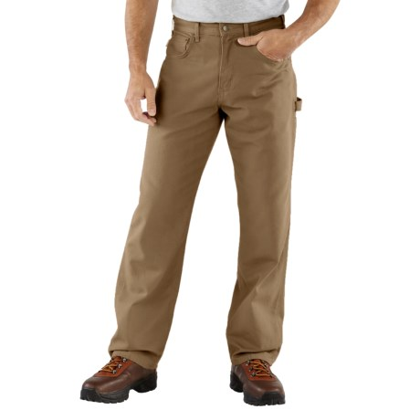 Carhartt Carpenter Jeans - Loose Fit (For Men) in Mushroom