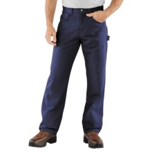 Carhartt Carpenter Jeans - Loose Fit (For Men) in Navy - 2nds