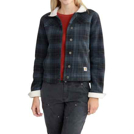 Carhartt Cedar Fleece Jacket - Factory Seconds (For Women) in Deep Blue - 2nds