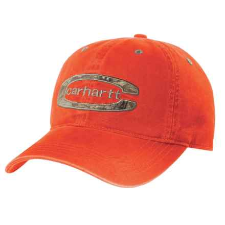 Carhartt Cedarville Baseball Cap (For Men) in Blaze Orange - Closeouts