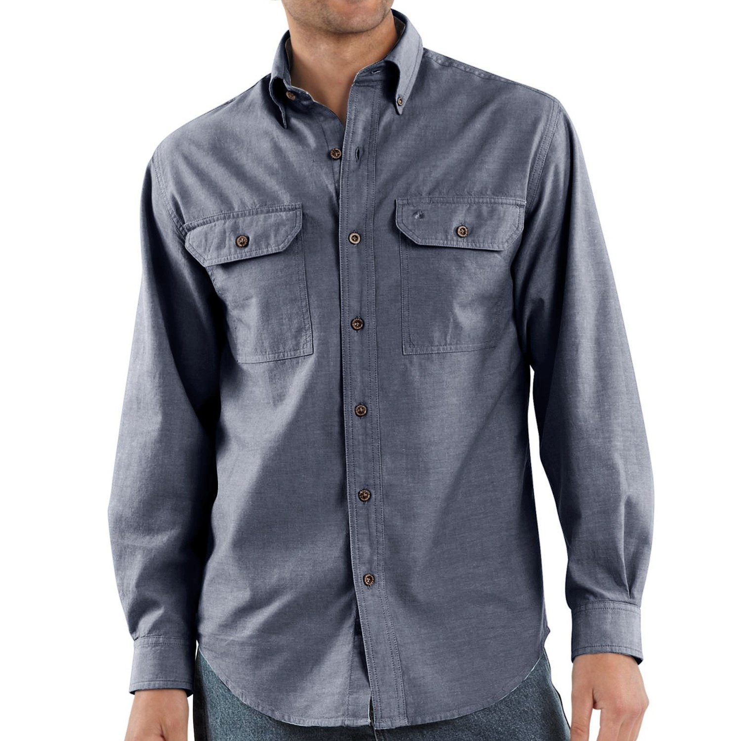10 Best Chambray Shirts For Men Posted in GEAR GUIDES, SHIRTS By Beau Hayhoe If there's a modern answer to past style classics like the blue Oxford, it just might be the chambray shirt.