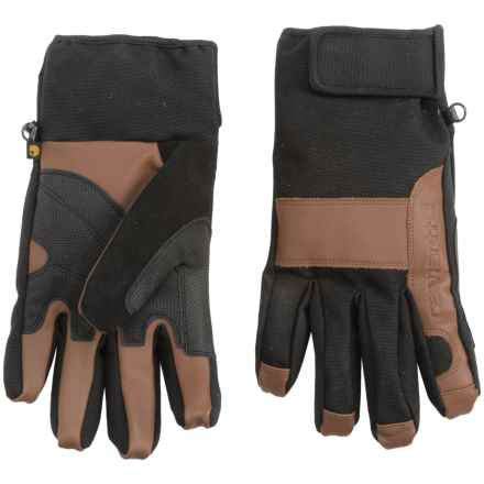 Carhartt Chill Stopper Gloves - Waterproof (For Men) in Black Barley - Closeouts
