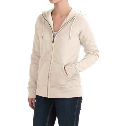 Carhartt Clarksburg Hoodie - Full Zip (For Women) in Warm Oatmeal Heather - 2nds