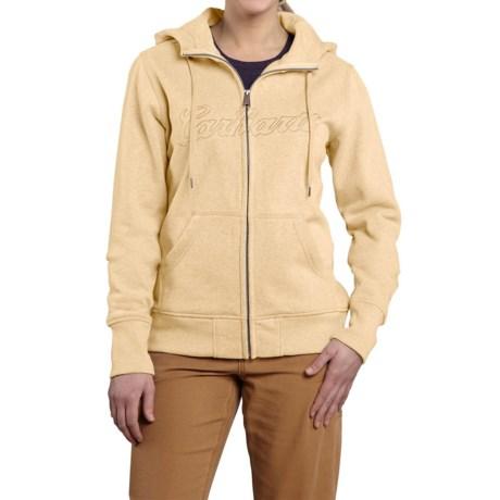 Carhartt Clarksburg Sweatshirt - Zip Front, Factory Seconds (For Women)