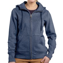Carhartt Clarksburg Sweatshirt - Zip Front (For Women) in Patriot Blue Heather - 2nds