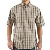 Carhartt Classic Plaid Shirt - Short Sleeve (For Men)