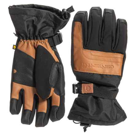 Carhartt Cold Snap Storm Defender® Gloves - Waterproof, Insulated (For Men) in Blackberry - Closeouts