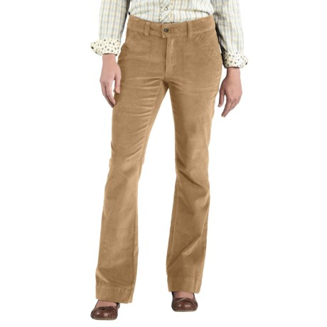 Carhartt Comfort Cord Pants -Stretch Fabric (For Women) in Cork