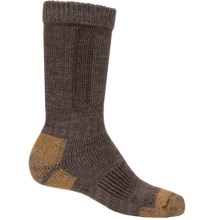 Carhartt Comfort Stretch Socks - Merino Wool (For Men) in Brown - 2nds