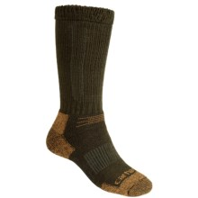 Carhartt Comfort Stretch Socks - Merino Wool, Mid Calf (For Men) in Moss - 2nds