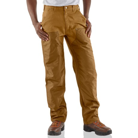 Carhartt Cordura® Front Dungaree Jeans (For Men) in Carhartt Brown