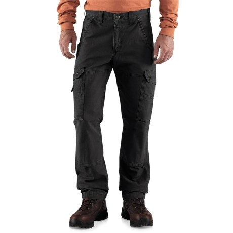 Carhartt Cotton Ripstop Pants - Factory Seconds (For Men) in Black