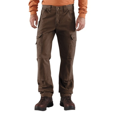 Carhartt Cotton Ripstop Pants (For Men) in Dark Coffee