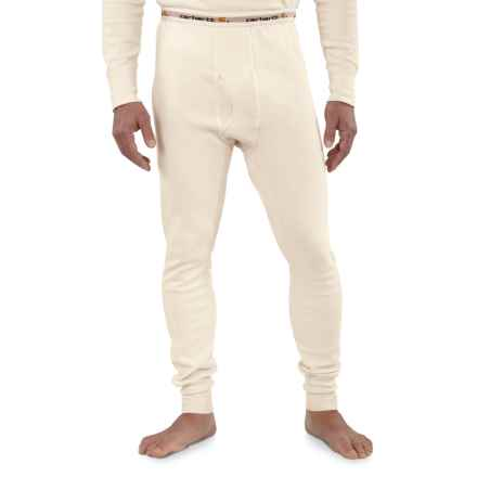 Carhartt Cotton Thermal Pants - Factory Seconds (For Big Men) in Natural - 2nds