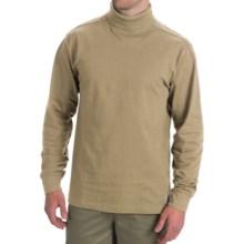Carhartt Cotton Turtleneck - Long Sleeve (For Men) in Dark Tan - 2nds