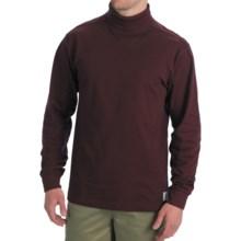 Carhartt Cotton Turtleneck - Long Sleeve (For Men) in Port - 2nds