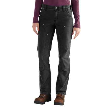 Carhartt Crawford Double-Front Pants - Factory Seconds (For Women) in Black - 2nds