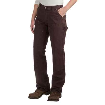 Carhartt Crawford Double-Front Pants - Factory Seconds (For Women) in Dark Brown - 2nds