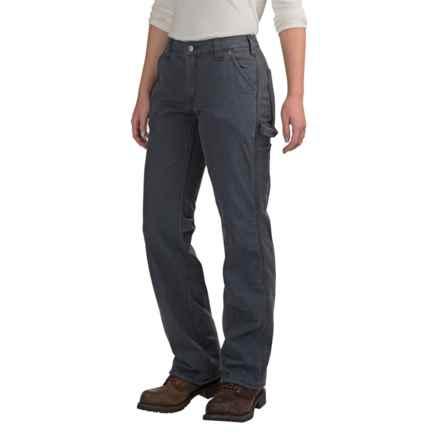 Carhartt Crawford Pants - Fleece Lined (For Women) in Coal - 2nds
