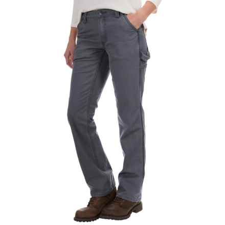 Carhartt Crawford Pants - Original Fit, Factory Seconds (For Women) in Coal - 2nds