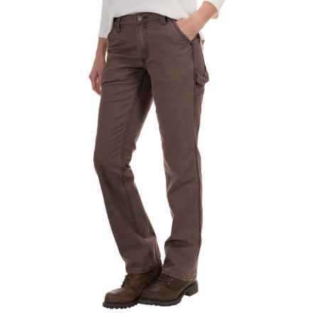 Carhartt Crawford Pants - Original Fit, Factory Seconds (For Women) in Dark Brown - 2nds