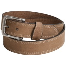 Carhartt Crazy Horse Leather Belt (For Men) in Brown - Closeouts