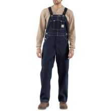 Carhartt Denim Bib Overalls (For Men) in Denim - 2nds