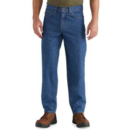 Carhartt Denim Jeans - Relaxed Fit, Factory Seconds (For Men) in Darkstone - 2nds
