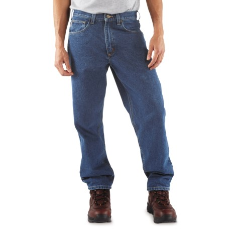 Carhartt Denim Jeans - Relaxed Fit, Factory Seconds (For Men) in Stone Wash