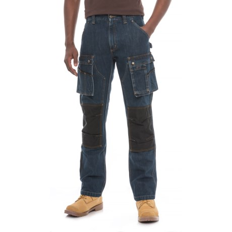 Image of Carhartt Denim Multi Pocket Tech Pants - Straight Leg, Factory 2nds (For Men)