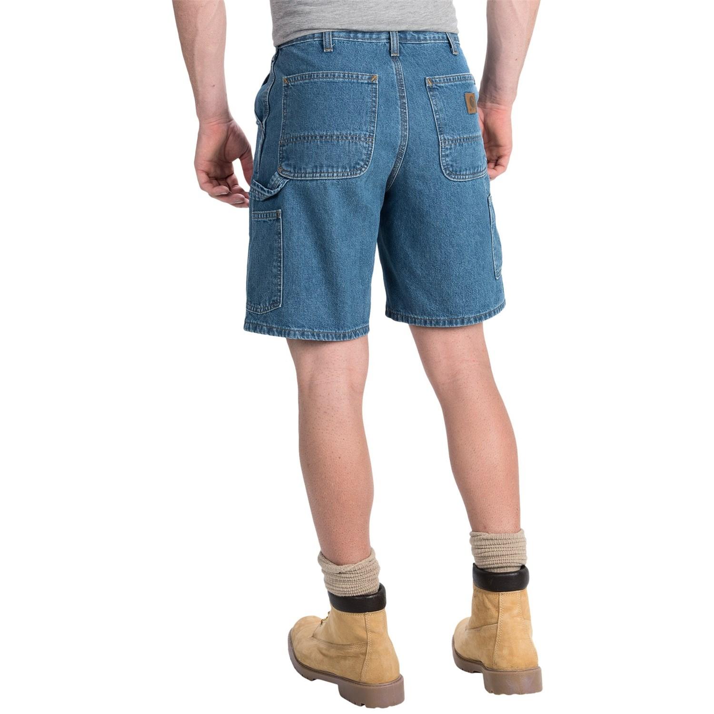 san francisco beauty latest Carhartt Denim Work Shorts - Lightweight, Factory Seconds (For Men)