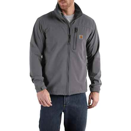 Carhartt Denwood Jacket (For Big and Tall Men) in Charcoal/Shadow - Closeouts