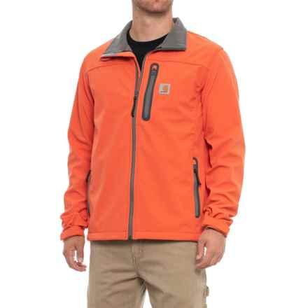 Carhartt Denwood Soft Shell Jacket - Factory Seconds (For Men) in Blaze Orange - 2nds