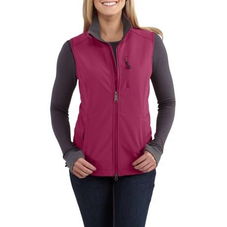 9a7409fe954 Carhartt Denwood Softshell Windproof Vest (For Women) in Raspberry