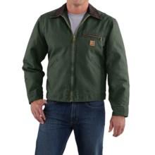 Carhartt Detroit Jacket - Sandstone, Blanket-Lined (For Men) in Moss - 2nds