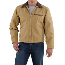 Carhartt Detroit Jacket - Sandstone, Blanket-Lined (For Men) in Worn Brown - 2nds